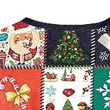 Sannysis Weihnachten Weihnachtspulli Sweater Damen Sweatshirt Pullover Merry Christmas Rentier Weihnachtspullover 3D Lässig Druck Sport Langarmshirt Test