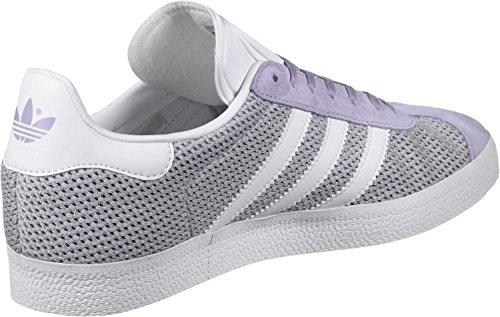 adidas Gazelle, Scarpe da Ginnastica Basse Donna Verde (Easy Green/footwear White/easy Green)