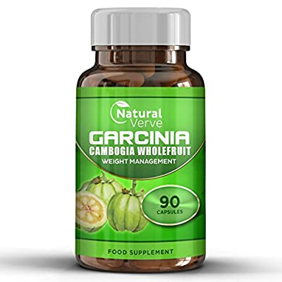 90 Capsule 100% Pure Garcinia Cambogia Extract * Fast Acting Weight Management * Natural Appetite Suppressant Lose Fat Fast Naturally * Part Of Your Healthy Balanced Diet * GMO Free & Suitable For Vegetarians * Made In The UK * 1000mg Per Serving 6 week s