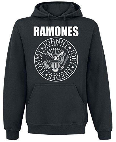 Ramones Seal Sweat à capuche noir Noir