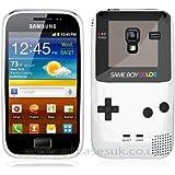 Etui de créateur pour Samsung Galaxy Ace 2 i8160 - Etui / Coque / Housse de protection en TPU/gel/silicone avec motif cool gameboy couleur