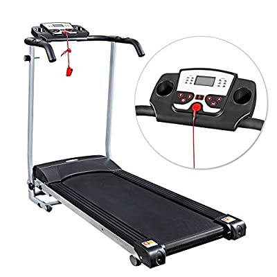 Home Gym Fitness Motorised Electric Treadmill Folding Machine Wide 360MM Belt from unknown