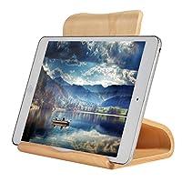 SAMDI Wooden for iPad Stand, Tablet Stand: Desktop Stand Holder Dock for iPad Pro 10.5/9.7/12.9, iPad mini 2 3 4, iPad Air 2, iPhone X 8 7 Plus, Nintendo Switch, Samsung Galaxy Tab S8 (White Birch)