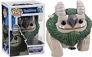 Trollhunters Trollhunters-13695-PX-1SS Figura de Vinilo AAARRRGGHH, Color Verde, Gris (Funko 13695)