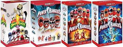Power Rangers Complete Series Box Sets (SEASONS 1 - 17) [DVD] [1993 - 2009] (Power Rangers Dvd-set)