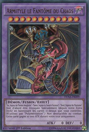 "Carte Yu-Gi-Oh! ""Armityle le Fantome du Chaos"" DUSA-FR099 - VF/ULTRA RARE"
