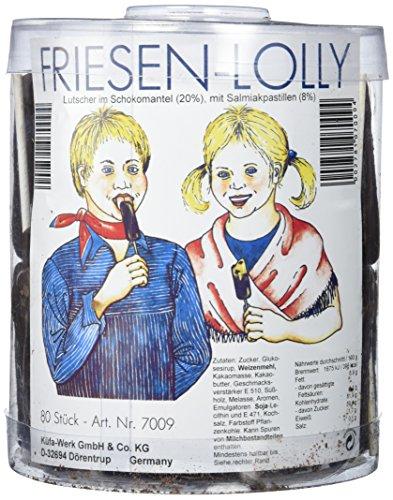 Küfa Friesen Lolly 80 Stück, 1er Pack (1 x 1.6 kg)