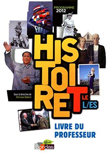 Histoire Tles L/ES * Livre du professeur