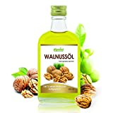 Alpvital Walnussöl 100% rein kaltgepresst 100ml - Stoffwechsel Cholesterin Nerven Gehirn