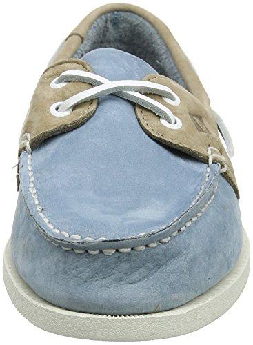 Sperry Herren A/O 2-Eye Washable Bootschuhe, Braun Mehrfarbig (Slate Blue  ...