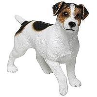 Leonardo Collection Jack Russell Terrier Ornament Dog, Stone, White, 13 x 4 x 11 cm