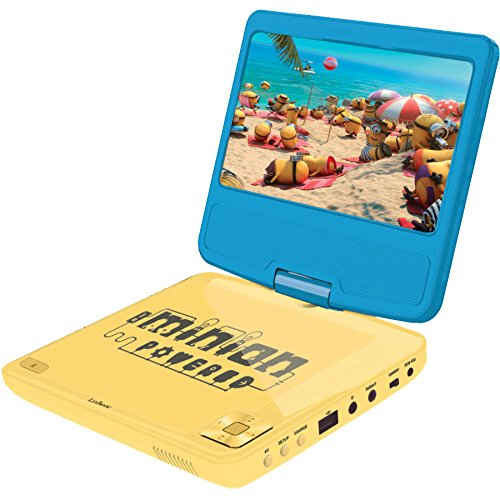 Lexibook - DVDP6DES - Despicable Me tragbarer DVD-Player (Portabel Dvd Akku)