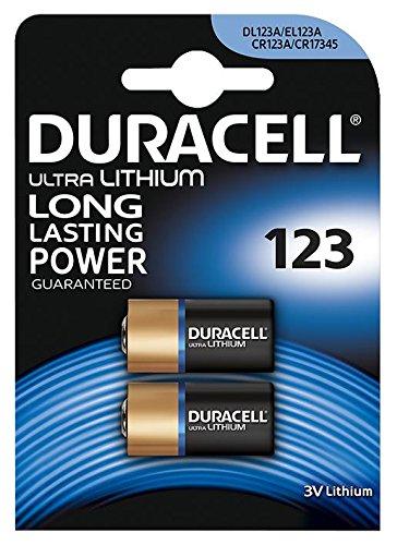 Duracell Ultra Lithium Batterie (DURACELL 7035773 Ultra Lithium 123 Batterie 3V PK2)