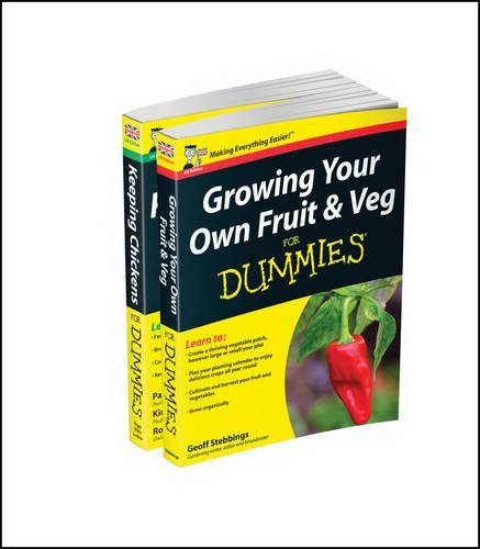 Self-Sufficiency For Dummies Collection - Growing Your Own Fruit & Veg For Dummies/Keeping Chickens For Dummies by Geoff Stebbings (2015-09-22)