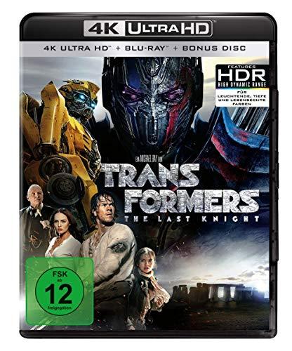 Transformers 5 - The Last Knight  (4K Ultra HD) (+ Blu-ray) (+ Bonus-Disc)