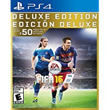 Electronic Arts FIFA 16 Deluxe PS4 - Juego (PlayStation 4, Deportes, ENG, ESP)