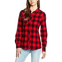 Urban Classics Dames Turnup Checked Flanel Shirt Dames - multi - M