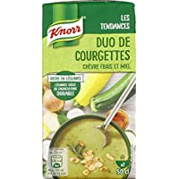 Knorr duo courgette chevre miel La brique de 500ml - Prix Unitaire - Livraison Gratuit Sous 3 Jours