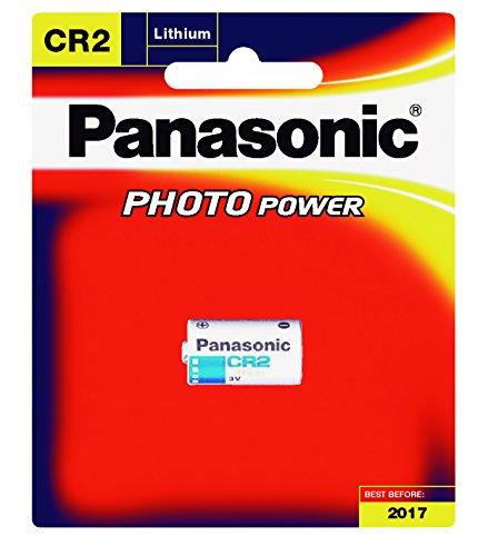 Panasonic - Pile lithium blister CR2 bl1 3V 750mAh - 3V 750mAh
