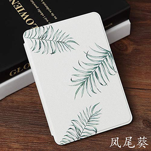 HLCBHT Kindle Paperwhite4 Schutzhülle Phoenix Flower 10. Generation Klassische Ledertasche E-Book Kpw4 Dünne Japanische Schlaf Aufwachen Pq94Wif Schutzhülle Phoenix Flower