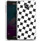 Samsung Galaxy A3 (2016) Housse Étui Protection Coque Noir et blanc Motif Motif
