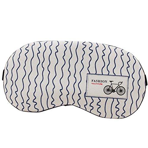 Fablcrew Brille von Eis-Baumwolle und Leinen-Sonnenbrille Schlaf Licht atmungsaktiv Sonnenbrille eyehead Warm und kalt mit der Pakete von Eis