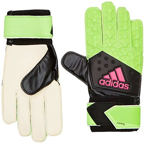 adidas Herren Torwarthandschuhe Ace Zones Ultimate Fußball, Solar Green/Core Black/Shock Pink S16/White, 11