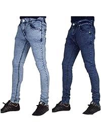 3b68b99b8cf10e Peviani Skinny Stretch Mens Jeans, Urban Super Slim Fit G Bar Rock Star  Denim