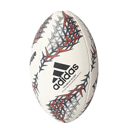 adidas Nzru R B Mini Balón de Fútbol Selección de Rugby Nueva Zelanda, Niños, Blanco (Blanco / Negro / Rojimp), 0