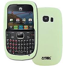 Empire - Carcasa de silicona para Huawei Pinnacle 2 M636 (brilla en la oscuridad), color verde