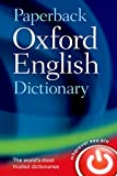 Oxford english dictionary paperback