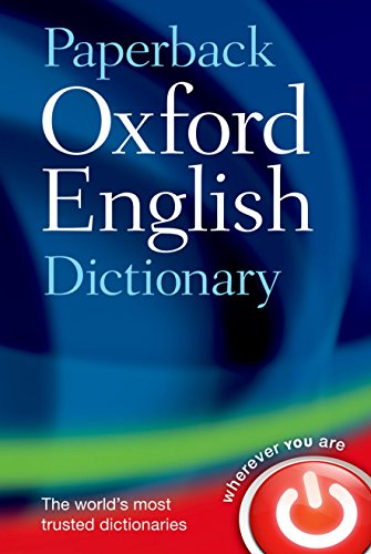 Oxford english dictionary paperback por Oxford Dictionaries