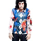 Yijja Fast Fun - Zombie, camiseta de manga larga para adultos, talla M (Charm Kingdom YJ00002)