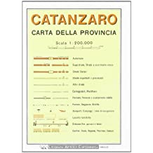 Catanzaro Provincial Road Map (1:200, 000)