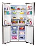 Haier 531 L Inverter Frost-Free Side-by-Side Refrigerator (HRB-550KG, Black)
