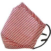 [roter Streifen] 2 Stück Anti-Staub Mund Maske Baumwolle warme Mund Maske preisvergleich bei billige-tabletten.eu