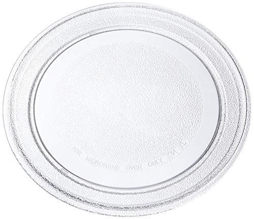 Invero® Master Universal Placa de Vidrio para microondas con Perfil Plano, 272mm Diameter