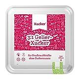 Xucker 4kg kalorienreduzierte natürliche Gelierzucker-Alternative, Xylit aus Frankreich, 3:1...