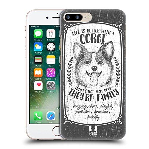 Head Case Designs Chihuahua Hunderasse Handgezeichnet Ruckseite Hülle für Apple iPhone 6 / 6s Corgi