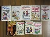 Paket Evelyn Sanders: Radau im Reihenhaus. Mit fünfen ist man Kinderreich. Jeans und grosse Klappe. Bitte Einzelzimmer mit Bad. Werden sie denn nie erwachsen? Hühnerbus und Stoppelhopser. Pellkartoffeln und Popcorn. U.w.! 11 Romane in 9 Büchern!