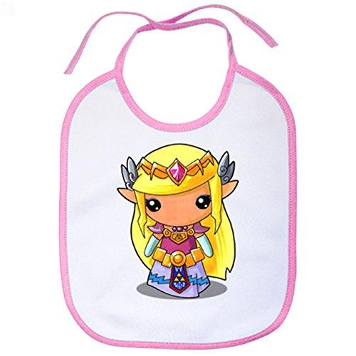 Babero Chibi Kawaii Princesa Zelda parodia Legend