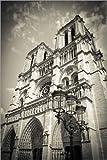 Posterlounge Alu Dibond 80 x 120 cm: Notre Dame Cathedral, Paris, France. von Age fotostock/Mauritius Images