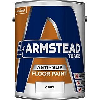 Armstead 5218567 Trade Anti-Slip Floor Paint-Grey (5 Litre)