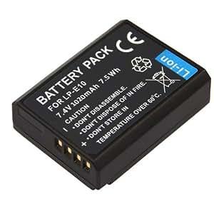 Batterie Premium pour CANON LP-E10 LPE10 EOS1100D EOS 1100D 1200D 1020mAh