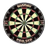 Steeldart Dartboard Winmau SFB Dartscheibe Dartspiel Bristle-Board Sisalfaser Sisal Board Wurfscheibe Steel-  Turnierboard Wettkampf- Sisal-Dartboard -scheibe Wurfspiel für Dartpfeile mit Stahlspitzen
