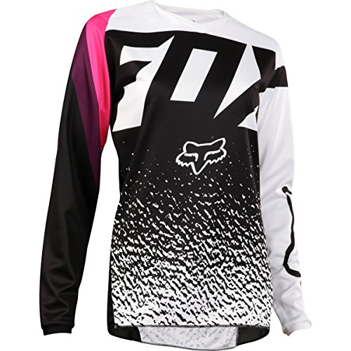 FOX Jersey Lady 180, Black/Pink, Größe S (Racing Fox Pink)