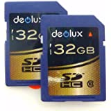 Trade Twin Pack 2 X 32GB Memory Card Class 10 SD SDHC Class 10 Ultra Fast Secure Digital Memory Card Class 10 For Kodak Easyshare C140