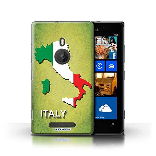 Coque de Stuff4 / Coque pour Nokia Lumia 925 / Ecosse/écossaise Design / Drapeau Pays Collection Italie/Italien