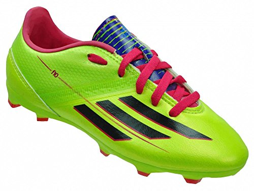 new concept 1e48c 45ff8 Adidas F10 TRX FG Junior Kinder Nocken Fußballschuhe Grün, GrösseEU38 -