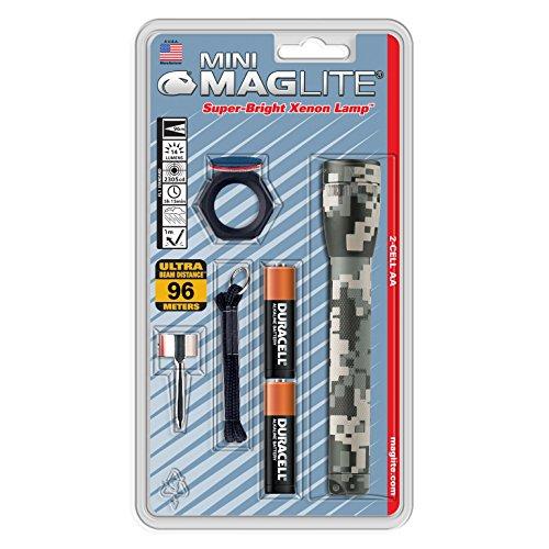 Maglite M2AMRC Taschenlampe, zum Camping und Wandern, Farbe: Camouflage